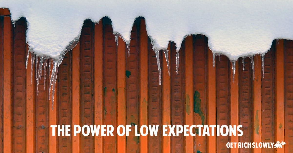 The power of low expectations