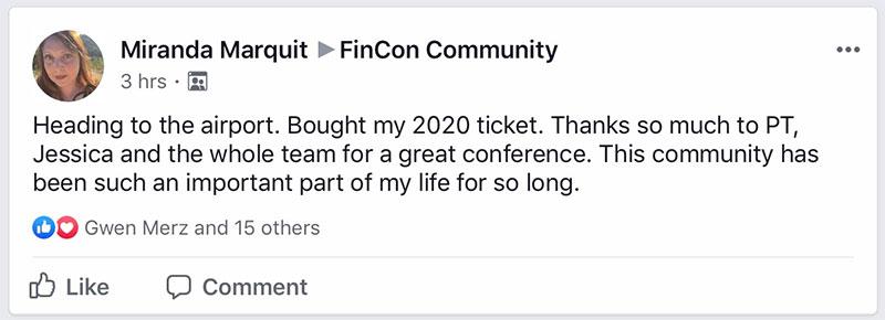 Miranda dicséri Finconot