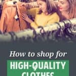 High-quality clothes don't have to be expensive. I recently talked with a group of friends about how we find the good stuff for cheap. Here's how.