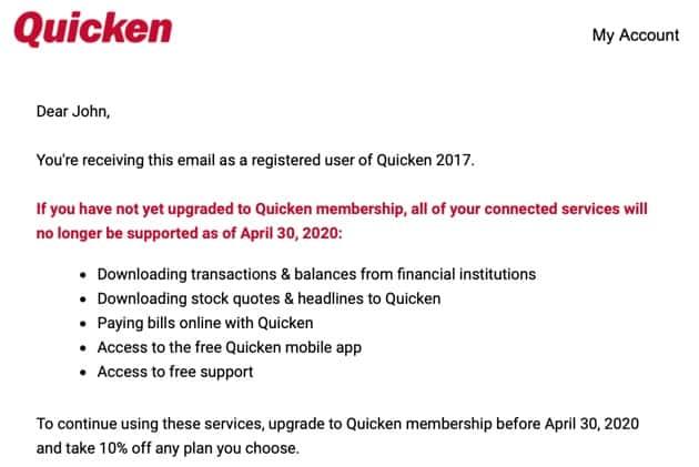 Quicken sucks