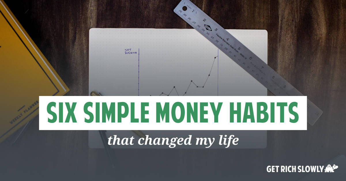 Six simple money habits