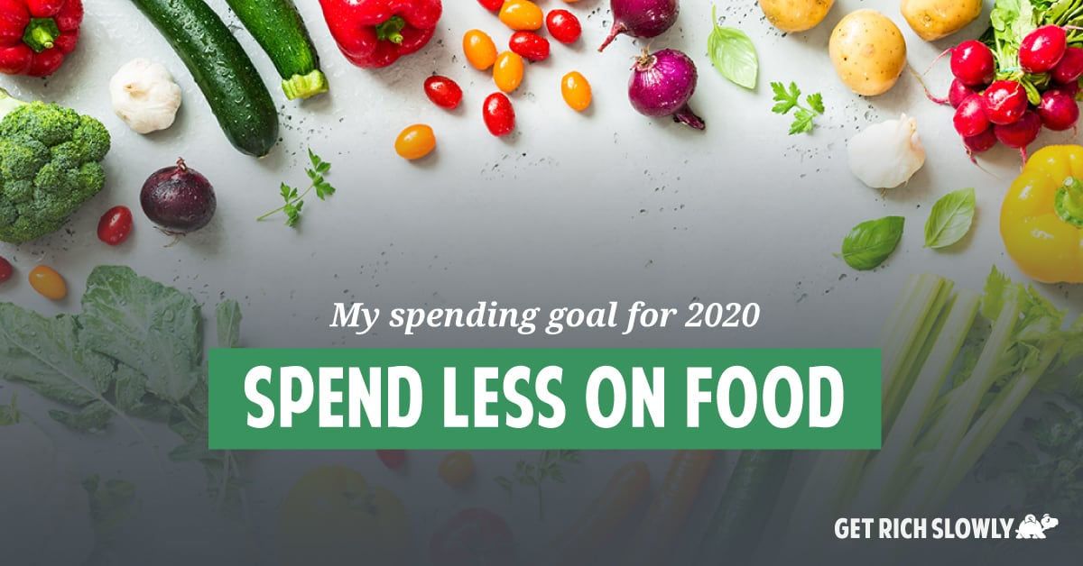 My spending goal for 2020: Spend less on food