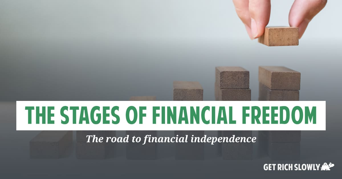 The stages of financial freedom: The road to financial independence