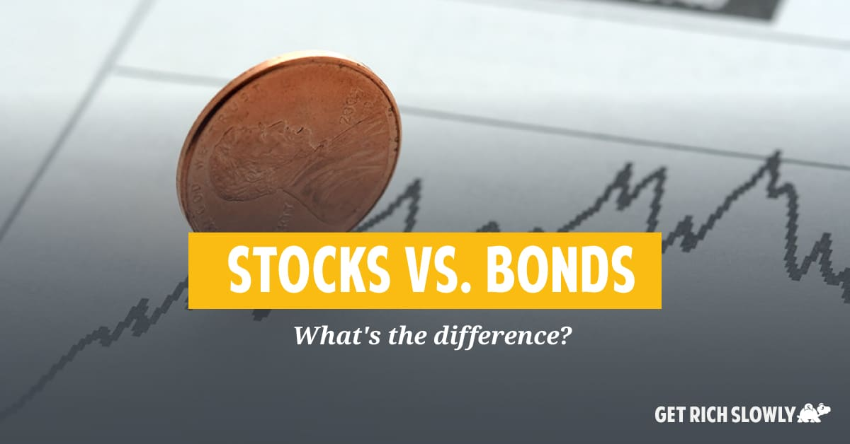 Stocks vs. bonds: What's the difference?