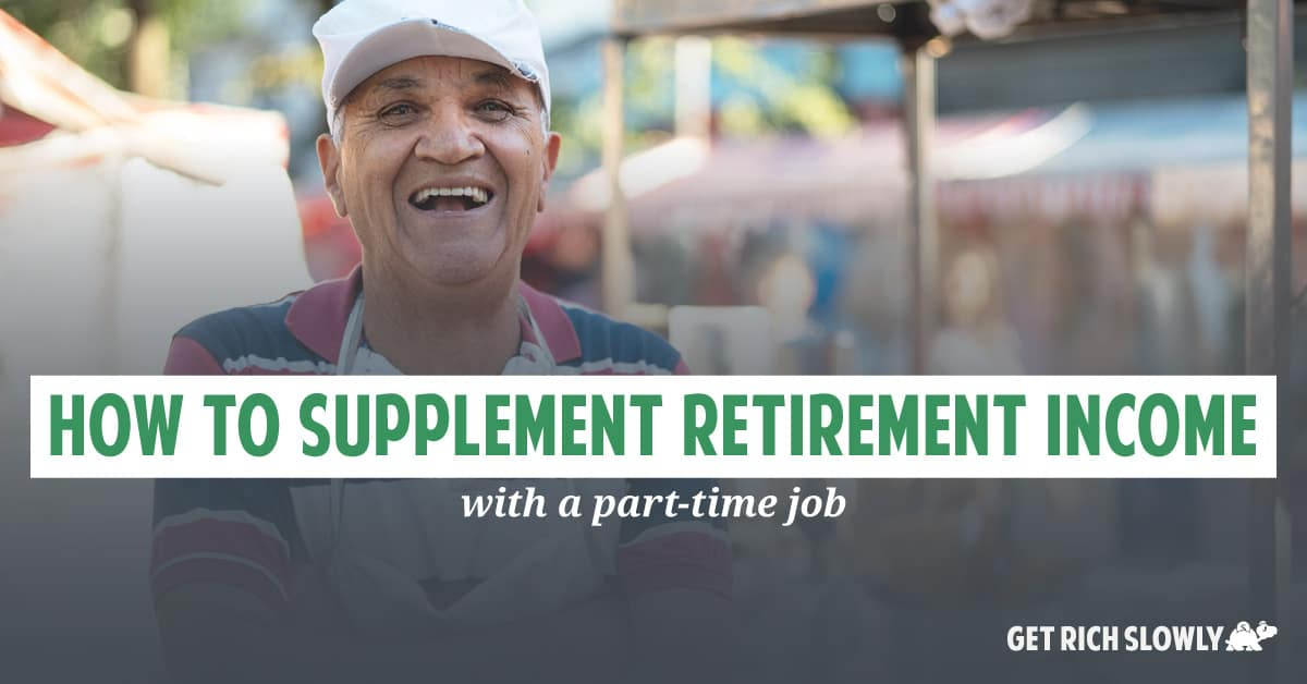 How to supplement retirement income with a part-time job