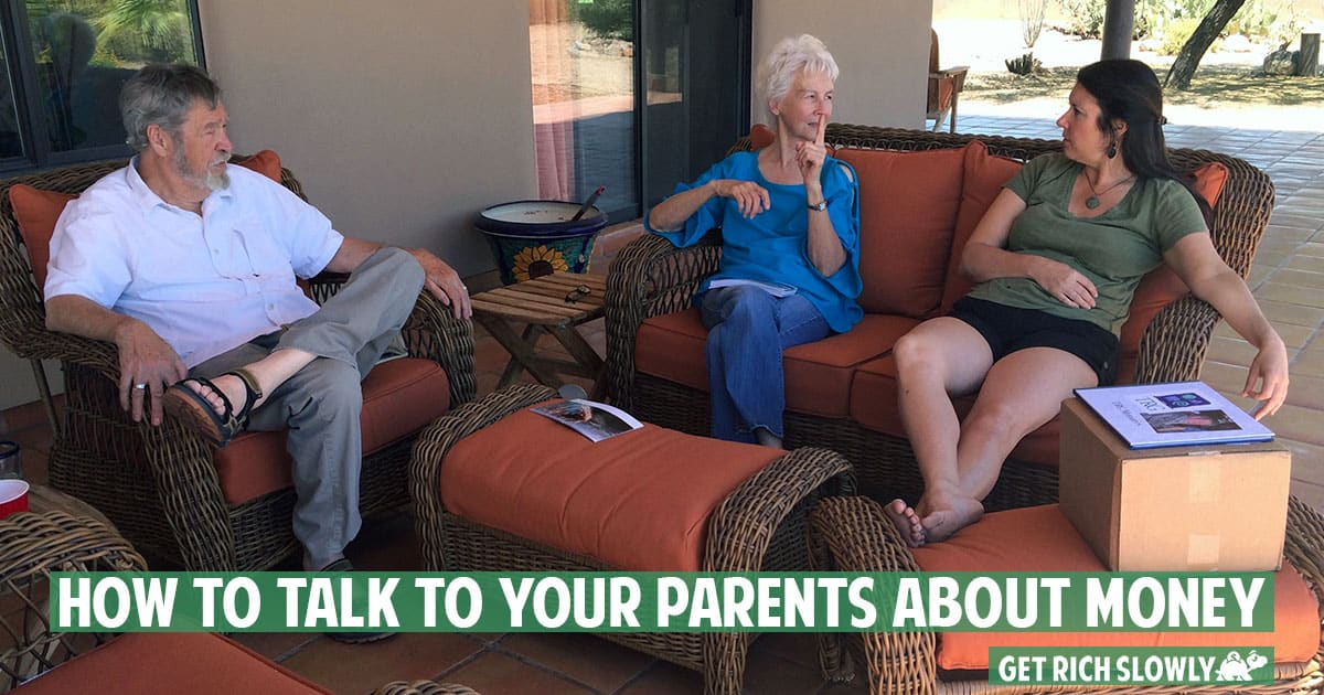 How to Talk with Your Parents About Their Finances