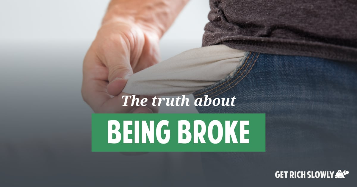 The truth about being broke