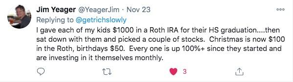 money gift idea on twitter