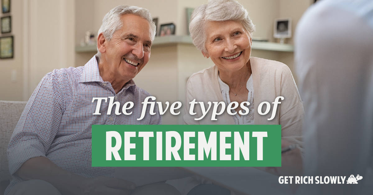The five types of retirement